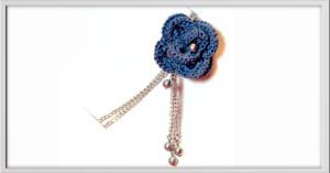 Ciondolo-blu-uncinetto