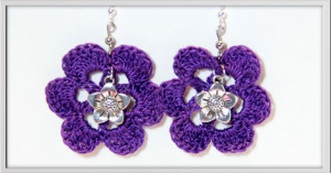 Orecchini-lilla-fiore