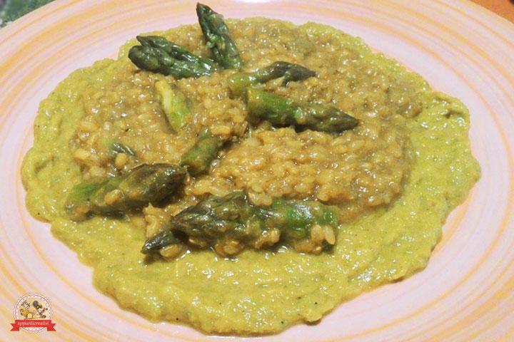"""<img src=""""http://appunticreativi.it/wp-content/uploads/2016/02/risotto-asparagi-piatto.jpg"""" alt=""""risotto asparagi piatto"""" />"""