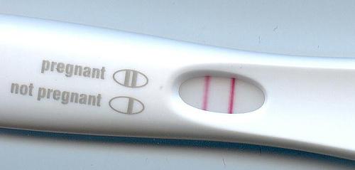 Test gravidanza positivo