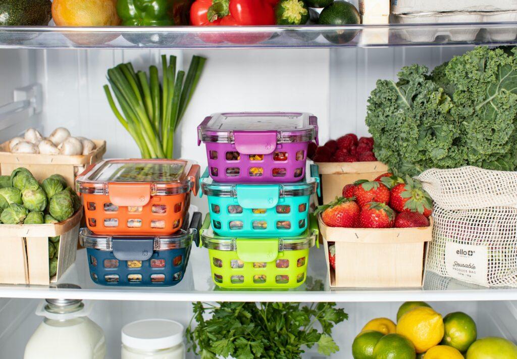 ripiani frigorifero sprechi alimentari
