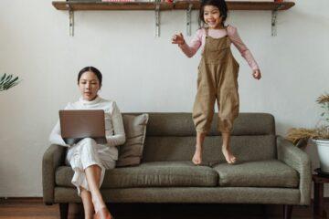 lavorare a casa con i figli appunticreativi